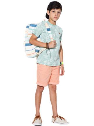 Bermuda Infantil Masculina Oliver com elastano Five Pockets
