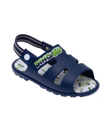 Sandália Infantil Masculina Pimpolho Dino Cor Azul