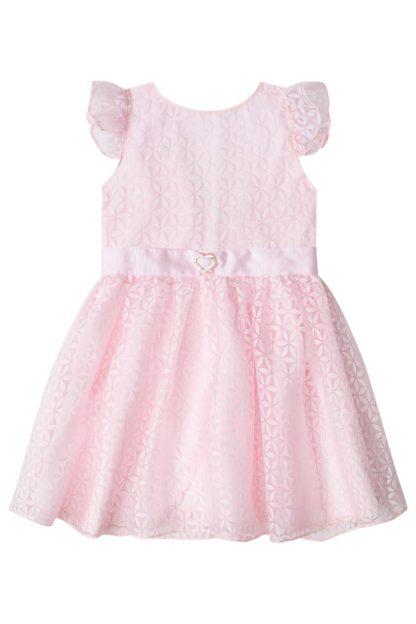 Vestido Infantil Infanti Margarida Rosa
