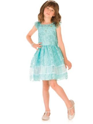 Vestido Infantil Infanti Princesse Cor Verde Água