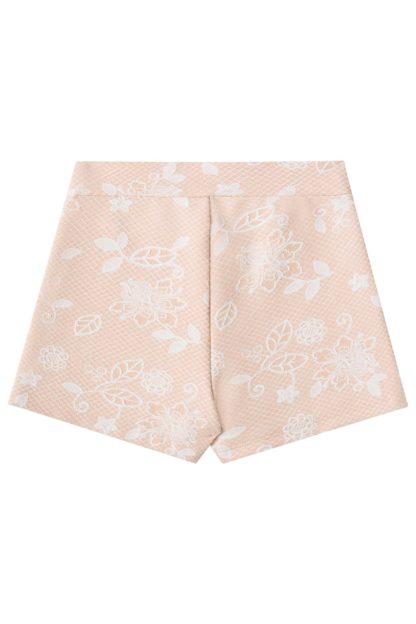 Conjunto Infantil Feminino Infanti Camisa e Short Saia