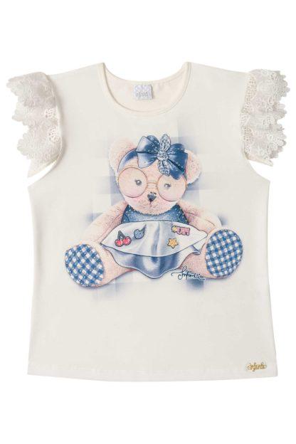 Conjunto Infantil Feminino Infanti Ursinho