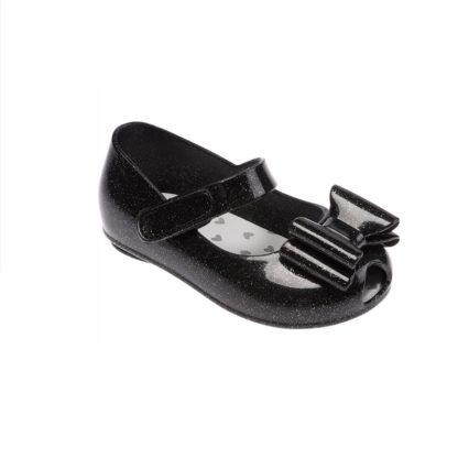 Sapato Infantil Feminino Pimpolho Colorê Preto com Brilho