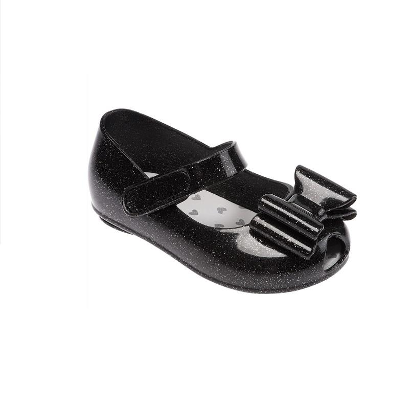 1c42f8246 Sapato Infantil Feminino Pimpolho Colorê Preto com Brilho - Pamplemousse