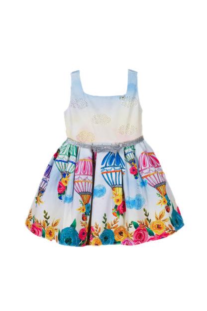 Vestido Infantil Luluzinha Kids Strass e Balões