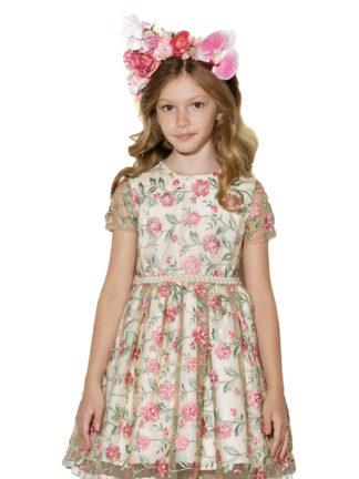 3bf386209a Vestido Infantil Colorido - Pamplemousse Loja de Roupas Infantil